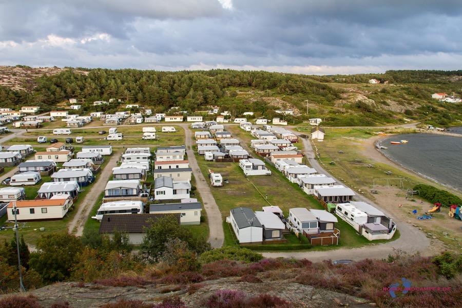Camping Saltvik bei Tjurpannans Naturreservat