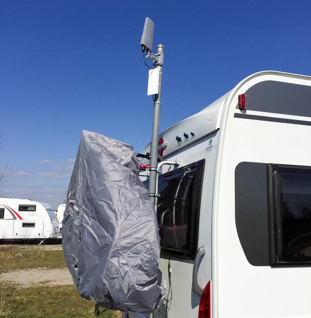 WLAN- und DVB-T-Empfänger