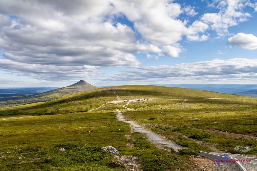 Wanderung durch die schwedische Einsamkeit