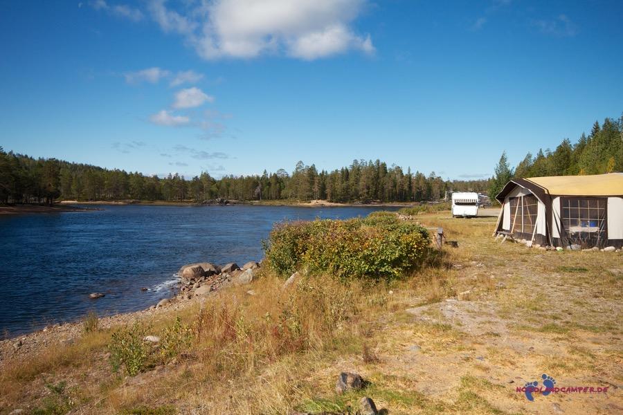 Freistehen in Lappland