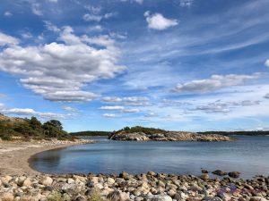 Baden im Saltö-Naturreservat