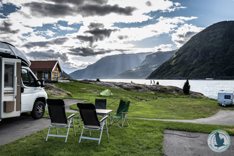 Das erste Mal mit Wohnwagen oder Wohnmobil nach Norwegen