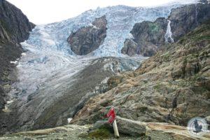 Norwegische Gletscher – Damals und Heute