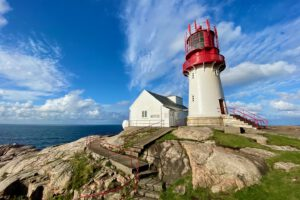 Norwegens stürmisches Südkap – Kap Lindesnes